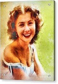 Mitzi Gaynor, Vintage Hollywood Actress Acrylic Print