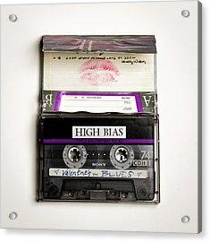 Mix Tape 3 Acrylic Print by Nathan Larson