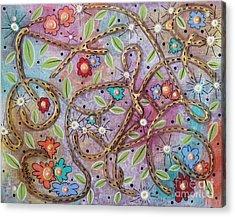 Mixed Bag Acrylic Print by Karla Gerard