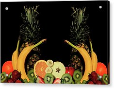 Acrylic Print featuring the photograph Mixed Fruits by Shane Bechler
