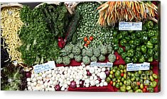 Mixed Vegetables - 5d17086 Acrylic Print by Wingsdomain Art and Photography