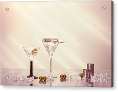 Mixing Cocktails Acrylic Print