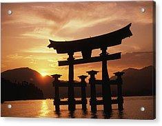 Miyajima Torii Acrylic Print