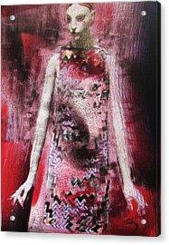 Mizz Oni Acrylic Print