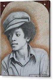 MJ Acrylic Print