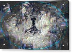 Mjollnir Acrylic Print