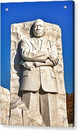 Mlk Memorial In Color Acrylic Print