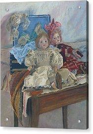 Mlle. Pinchon Acrylic Print by Miriam A Kilmer