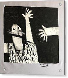Mmcvii Paranoia No 2  Acrylic Print by Mark M Mellon