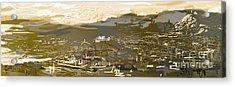 Mmm Athens Acrylic Print by Jelena Ignjatovic
