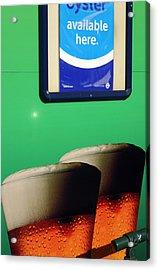Mmmhh Beer Acrylic Print by Jez C Self