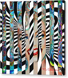 Mmother Of Pearl Sis 3 Acrylic Print