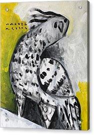 Mmxvii Frank Acrylic Print by Mark M Mellon