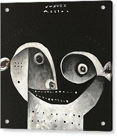Mmxvii Masks For Despair No 1  Acrylic Print by Mark M Mellon
