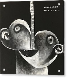 Mmxvii Masks For Despair No 2  Acrylic Print by Mark M Mellon