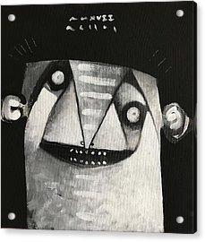Mmxvii Masks For Despair No 3  Acrylic Print by Mark M Mellon