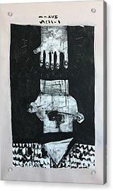 Mmxvii Paranoia No 1  Acrylic Print by Mark M Mellon