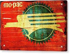 Mo-pac Caboose  Acrylic Print