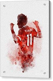 Mo Salah Acrylic Print