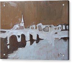 Moasbrogk In Brown Tints Acrylic Print