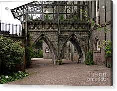 Moat At Inveraray Castle In Argyll Acrylic Print
