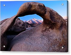 Mobius Arch Acrylic Print by Peter McCracken