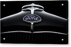 Acrylic Print featuring the digital art Model A Ford by Douglas Pittman