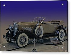 Model J Lebaron Phaeton Acrylic Print by Bill Dutting