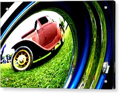 Model T In A Bubble Acrylic Print by Emily Stauring