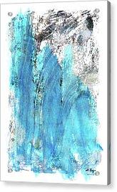 Modern Abstract Art - Blue Essence - Sharon Cummings Acrylic Print by Sharon Cummings