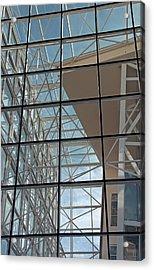 Modern Architecture 4 Acrylic Print by Steve Ohlsen