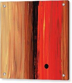Modern Art - The Power Of One Panel 1 - Sharon Cummings Acrylic Print by Sharon Cummings