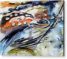 Modern Art Travel Log 05 Dec 9 2017 Acrylic Print