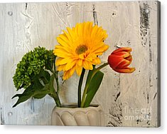 Acrylic Print featuring the photograph Modern Bouquet by Marsha Heiken
