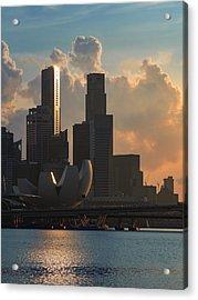 Modern City Acrylic Print