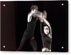 Modern Dance 14 Acrylic Print by Catherine Sobredo