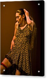 Modern Dance 16 Acrylic Print by Catherine Sobredo