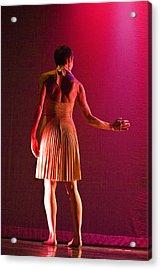 Modern Dance 17 Acrylic Print by Catherine Sobredo