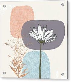 Modern Fall Floral 2- Art By Linda Woods Acrylic Print