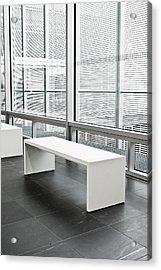 Modern Interior Acrylic Print by Tom Gowanlock
