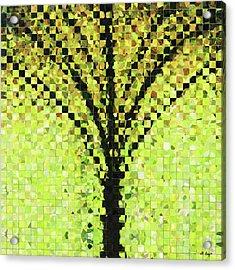 Modern Landscape Art - Pieces 10 - Sharon Cummings Acrylic Print