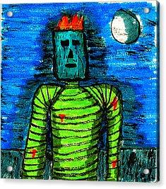 Modern Prometheus Acrylic Print