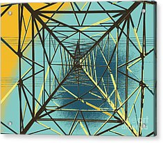 Modern Pyramid Acrylic Print