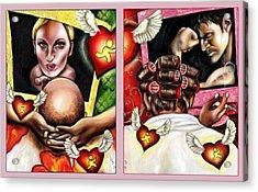 Modern Romance Acrylic Print