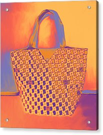 Modern Shopping Bag Acrylic Print