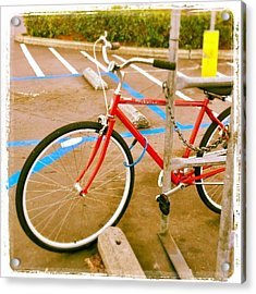 Modern Transportation As Seen At The Acrylic Print