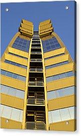Acrylic Print featuring the photograph Modern W Hotel Barcelona by Marek Stepan