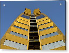 Acrylic Print featuring the photograph Modern W Hotel Barcelona Spain by Marek Stepan