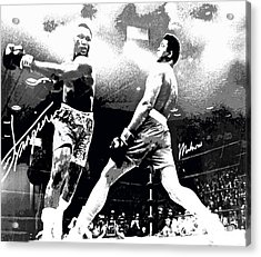 Mohamed Ali Float Like A Butterfly Acrylic Print