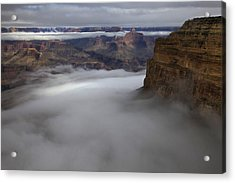 Mohave Point Inversion Acrylic Print by Mike Buchheit